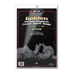 BCW Resealable Golden Comic Book Bags (100 St.)