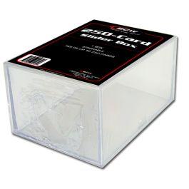 BCW Plastikkasten für 250 Karten - 2-teilig