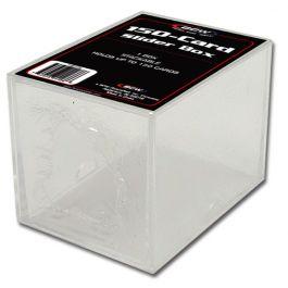 BCW Plastikkasten für 150 Karten - 2-teilig