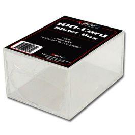 BCW Plastikkasten für 100 Karten - 2-teilig