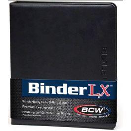 BCW Premium Collectors Album Black Leatherette
