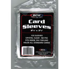 BCW Soft Sleeves - 100 Stück Schutzhüllen für Sammelkarten