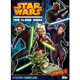 Star Wars - The Clone Wars 2014 Sticker Album