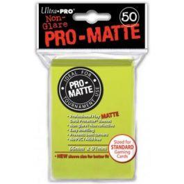 Pro-Matte Sleeves Bright Yellow (50 St.)