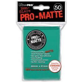 Pro-Matte Sleeves Aqua Türkis (50 St.)