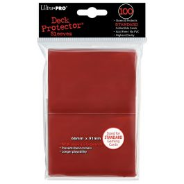 Deck Protector Sleeves Red (100 St.)