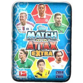 2014-2015 Match Attax Extra Mini-Tin (DE)