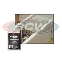 BCW Trading Card Dividers - Titeltrenner 10 Stück