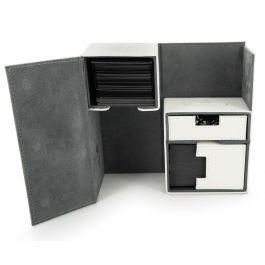 Ultimate Guard Twin Flip-n-Tray Deck Case 160+ XenoSkin Weiß