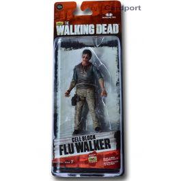 The Walking Dead TV Serie 7.5 - Cell Block Flu Walker Figur