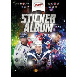 2015-2016 DEL Sticker Album + 2 Packs