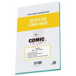 CC Comic Bags Silver Age Size (100 St.)