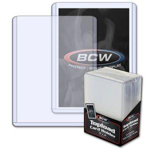 BCW 3 x 4 Inch Toploader Card Holder (25 Stück)